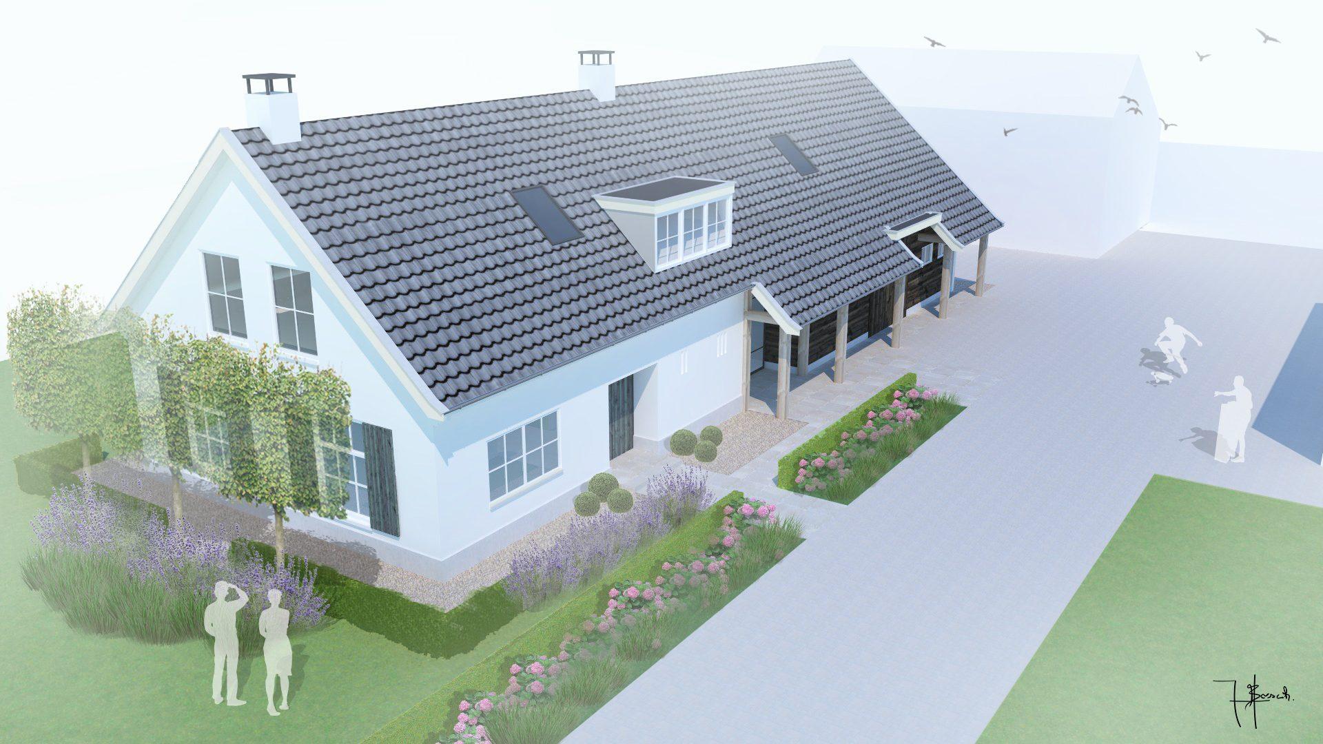 3D Ontwerp Woonhuis Renovatie