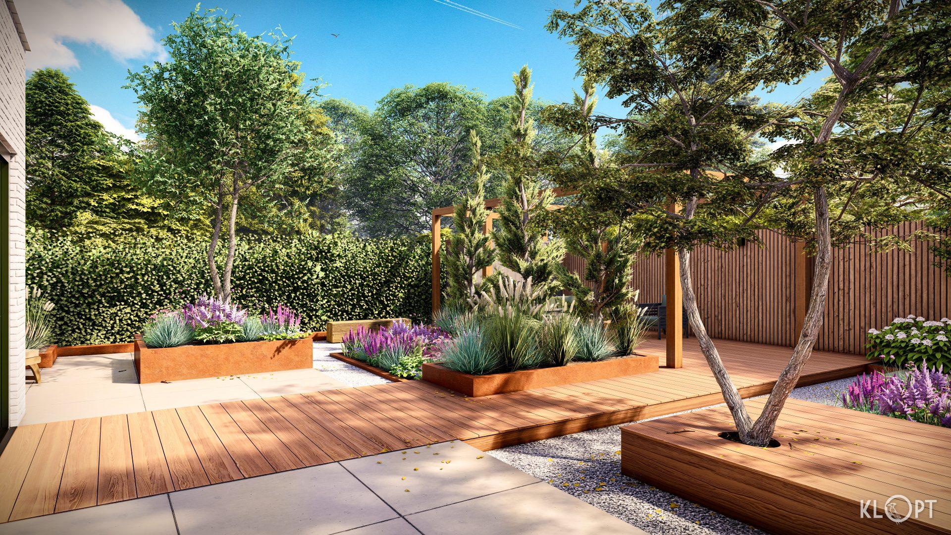 Moderne Tuin renovatie